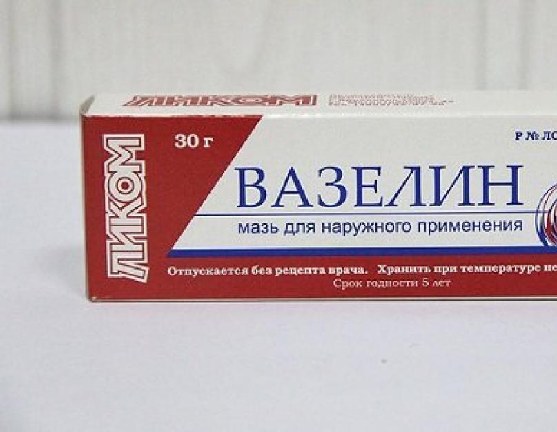 vazelin fogyáshoz)