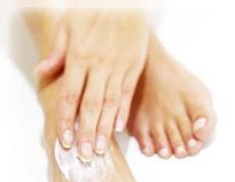Picioare umflate după expunerea la soare
